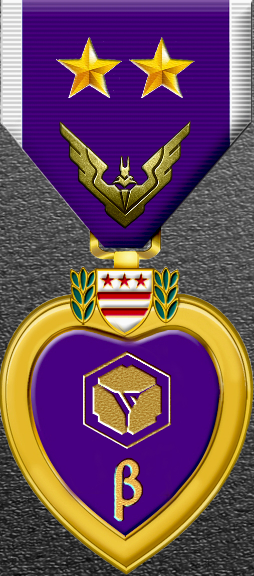 Battle for Beta System Merit MEDAL 2 star